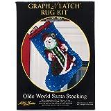 MCG Textiles Olde World Santa Stocking Latch Hook Kit