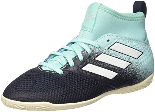 adidas Ace Tango 17.3 In J, Zapatillas de Fútbol Sala Unisex Niños Varios colores (Aquene / Ftwbla / Tinley)