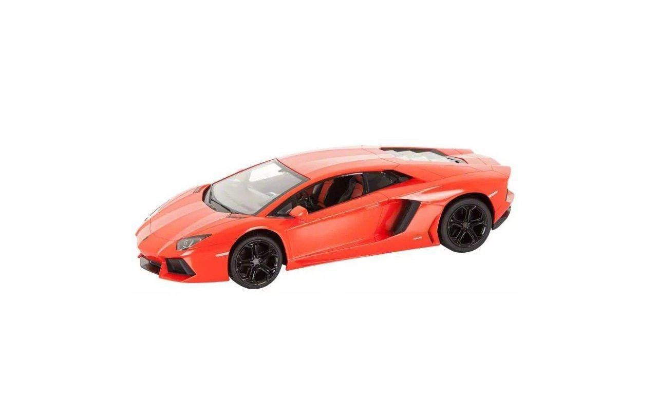 Amazon com 1 14 scale lamborghini aventador lp700 radio remote control model car r c rtr orange toys games