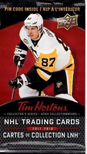 2017 18 Upper Deck Tim Hortons Hockey Card Pack Canadian Excl