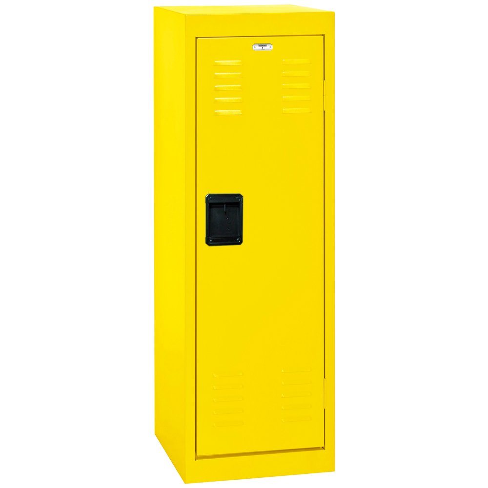 Sandusky Lee Kids Locker, LF1B151548-EY Single Tier Welded Steel Locker, 48''