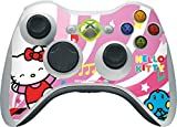 Hello Kitty Xbox 360 Wireless Controller Skin – Hello Kitty Dancing Notes Vinyl Decal Skin For Your Xbox 360 Wireless Controller