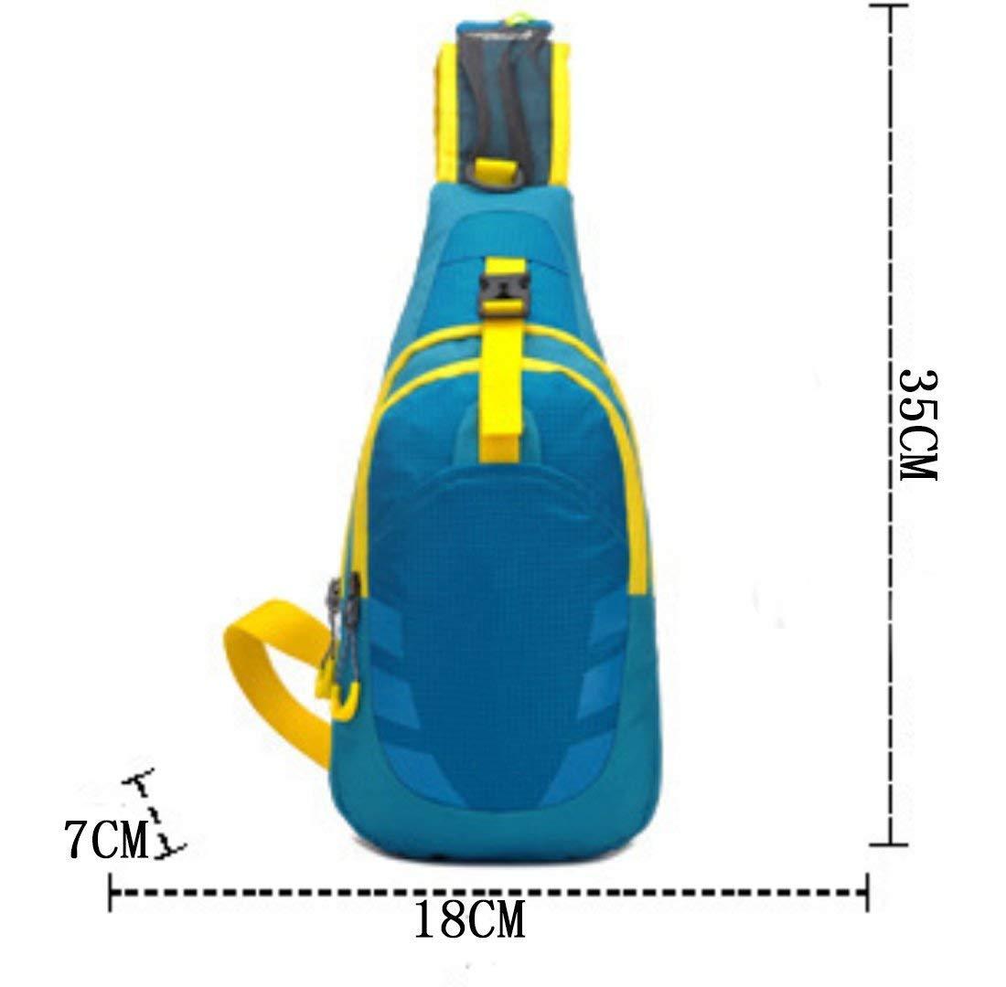 Pureed Bolsa De Hombro Al Aire Libre Usar Impermeable Multifunción Moda Senderismo Transpirable Sin Usar Libre Elegante Bolsa De Gimnasio Bolsa De Pecho Pequeño Mochila Diagonal bb99a6