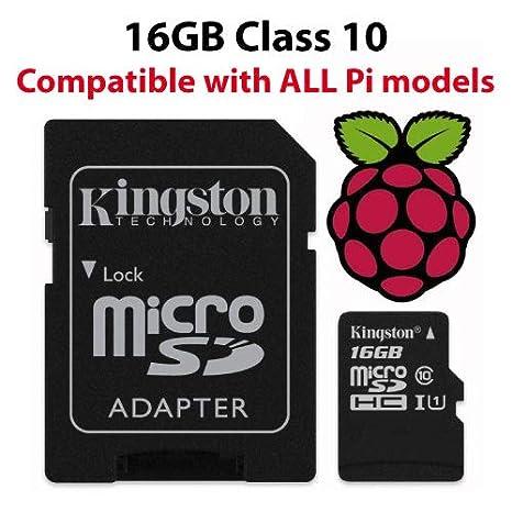Raspberry Pi Oficial de 16 GB con Tarjeta Micro SD Noobs