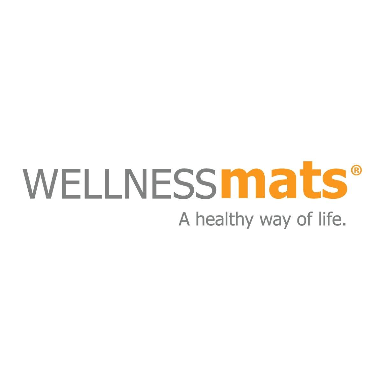 WellnessMats Anti-Fatigue Trellis Motif Kitchen Mat, 36 Inch by 24 Inch, Grey by WellnessMats (Image #5)