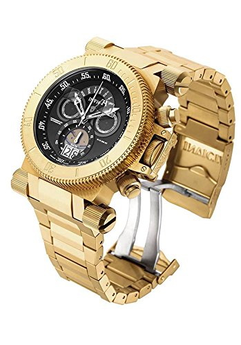 invicta-17642-mens-coalition-forces-black-dial-yellow-gold-steel-bracelet-chronograph-watch