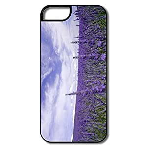 Cartoon Lavender Field Case For Sony Xperia Z2 D6502 D6503 D6543 L50t L50u Cover For Him