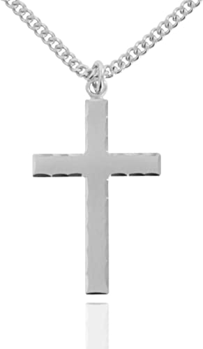 New in Beautiful Velvet Gift Box The Lords Prayer Cross Pendant Necklace
