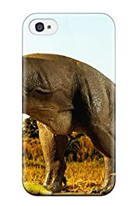 PCkLEcW78783FrVwy CaseyKBrown Awesome Case Cover Compatible With Iphone 4/4s - Dinosaur