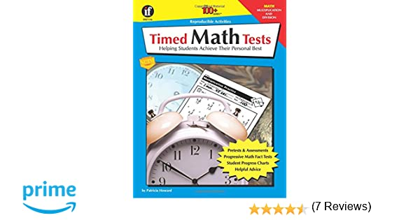 Amazon.com: Timed Math Tests: Helping Students Achieve Their ...