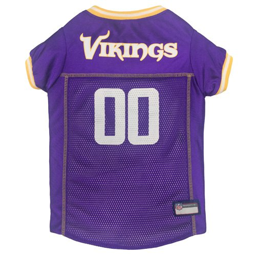 Pets First NFL MINNESOTA VIKINGS DOG Jersey, X-Large by Pets First