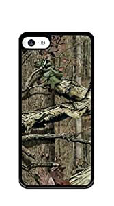 Hard Back Shell Case Cover iphone 5c case for teen girls cute - camo color