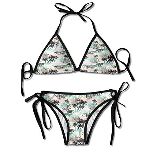 Belted Hipster Bikini - Women's Catalina Belted Hipster Bikini Bottom Personality Swimwear Bikini Set
