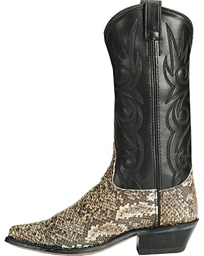 Old West Men's Snake Printed Cowboy Boot Natural for sale for sale buy cheap pictures largest supplier sale online P1HNU