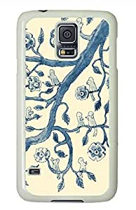 China Pattern White Hard Case Cover Skin For Samsung Galaxy S5 I9600