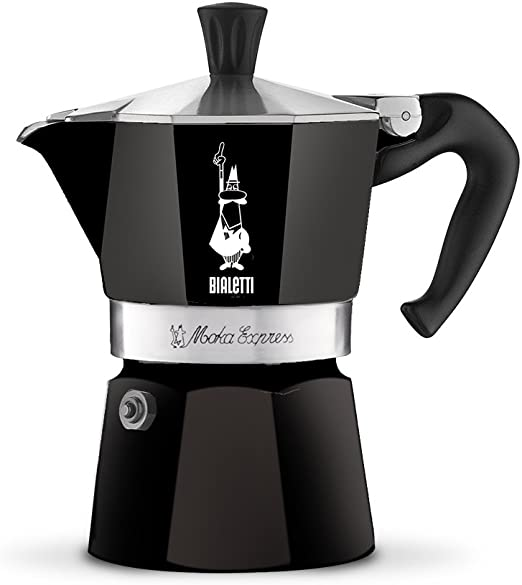 Amazon.com: Bialetti - Cafetera espresso, Negro: Kitchen ...