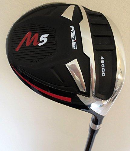 Tall Mens Golf Set Driver, Fairway Wood, Hybrid, Irons, Putter Clubs Stand Bag 1 Length