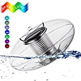 Sanyi Solar Floating Light Pool Light Pond Light Outdoor Night Light Color Changing Solar Light LED Ball Lamp Waterproof LED Lantern for Swimming Pool Pond Garden Home Decorative Lighting