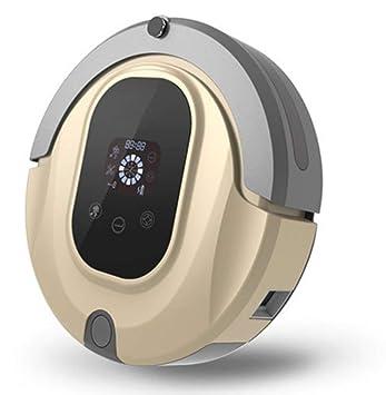 XLUOYI Aspirador Con Robot Inteligente De Barrido WiFi Con Eliminación Ultrafina,Gold-35cm*9.1cm: Amazon.es: Hogar