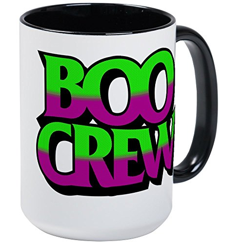 CafePress Boo Crew Coffee Mug, Large 15 oz. White Coffee Cup