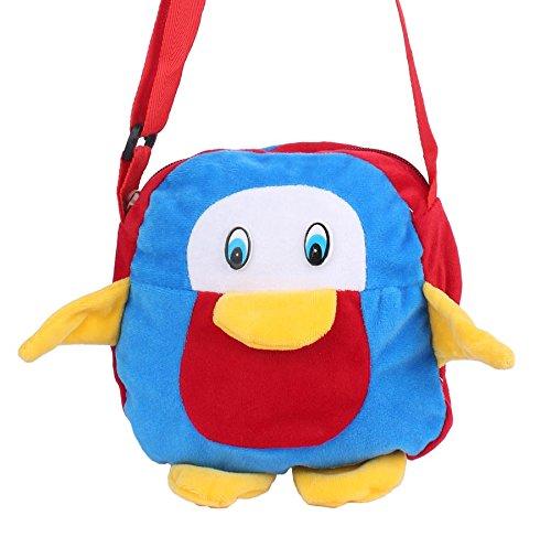 Envie Faux Fur Red and Blue Coloured Zipper Closure Sling Bag  Amazon.in   Shoes   Handbags 0c17a3cc3d2e4