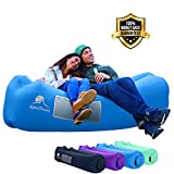 AlphaBeing Inflatable Lounger - Best Air Lounger for Travelling, Camping, Hiking - Ideal Inflatable Couch for Pool and...