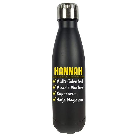 Amazon.com: Hannah Talented Superhero Ninja Name Pride Funny ...