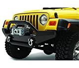 #3: Bestop 44906-01 HighRock 4x4 Matte Black Grill Guard for 1997-2006 Wrangler TJ & TJD
