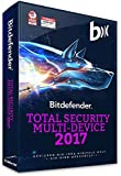 Bitdefender Total Security Multi Device 2017 - 5 Devices | 1 Year (MAC, Windows & Android) - Activation Code (bumps)