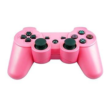 Vibración doble JWD LowClick TTSAM inalámbrico recargable Bluetooth mando remoto Joystick Gamepad para Playstation 3 PS3