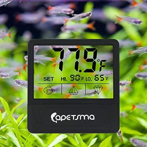 Mini Termómetro digital para acuario pantalla táctil 3