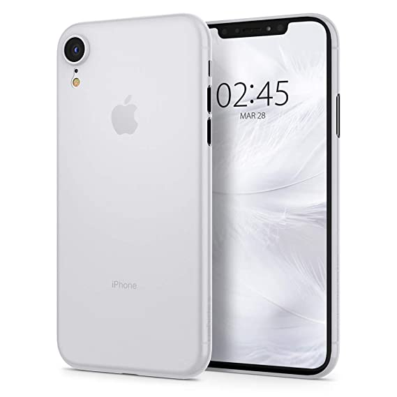 info for 71579 84643 Spigen Air Skin Designed for Apple iPhone XR Case (2018) - Soft Clear