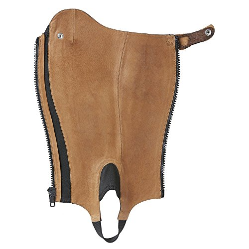 ARIAT CLOSE CONTOUR Show Chaps, waxed chocolate (braun), MS
