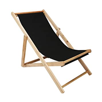 Fine Amazon Com Lovehouse Adjustable Sling Lounge Chair Wood Onthecornerstone Fun Painted Chair Ideas Images Onthecornerstoneorg