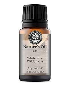 White Pine Wilderness Fragrance Oil (15ml) For Diffusers, Soap Making, Candles, Lotion, Home Scents, Linen Spray, Bath Bombs, Slime