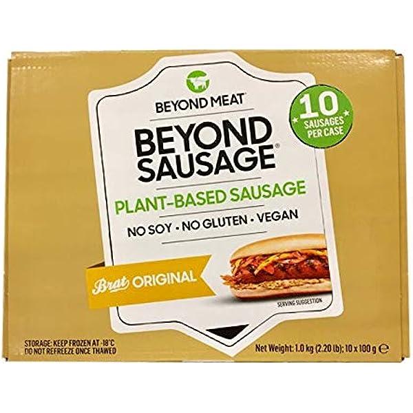 Beyond Meat Salchichas x 10 unidades | 100% Vegetal | Plant ...