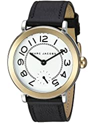 Marc Jacobs Womens Riley Black Leather Watch - MJ1514