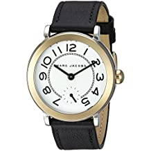 Marc Jacobs Women's Riley Black Leather Watch - MJ1514