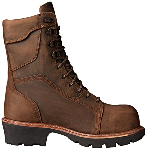 Work Dark Pro Saw Boot Mens Rip Toe Waterproof 9 Comp in Timberland Brown BR fw1AHxqwT