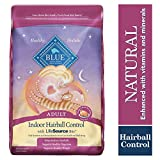Blue Buffalo Indoor Hairball Control Natural Adult Dry Cat Food, Chicken & Brown Rice 15-lb