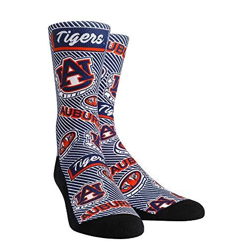 - NCAA Super Premium College Fan Socks (L/XL, Auburn Tigers - Logo Statement)