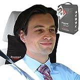 SANDINI RelaxFix - ergonomisches Auto-Nackenkissen - schwarz