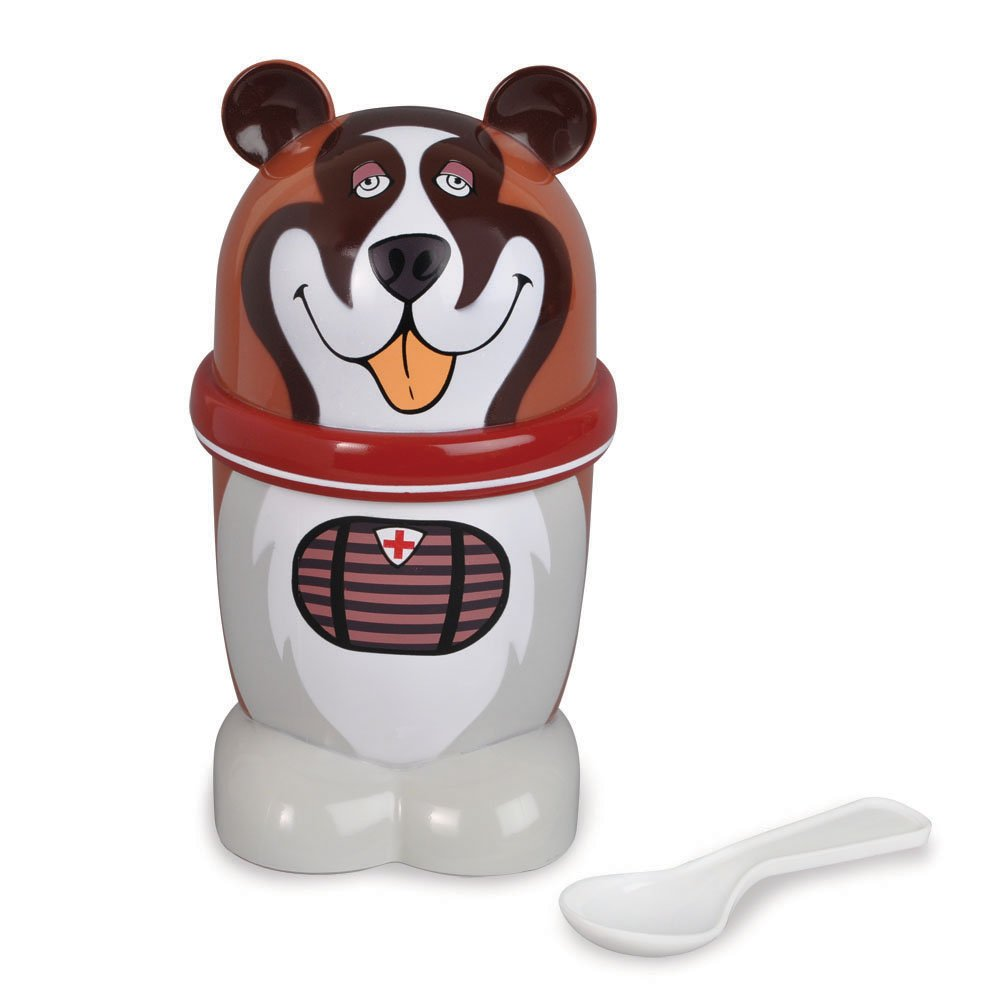 Ice Cream Mugz Personal-Size Instant Ice Cream Maker, DOG (St. Bernard)
