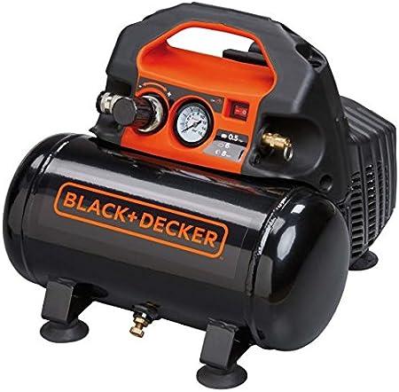 Black+Decker B2BB104BND359 Compressore Silenzioso BD 100//6-ST