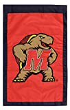 University of Maryland - 28'' x 44'' Double Sided Appliqued NCAA Banner