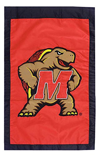 (Flagline University of Maryland - 28 in x 44 in Double Sided Appliqued NCAA Banner )