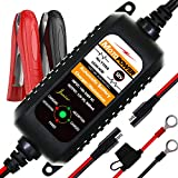 Pulse Repair Automotive Smart Battery Maintainer for Car Boat,Lawn Mower,Snowmobile,SUV,ATV Rescue SLA AGM Gel Cell Lead Acid Batteries NewSoul1us 12V 5A Battery Charger Blue