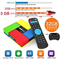Aoxun 3G+32G 4K Android TV Box Intelligent set-top box T95K PRO CPU Amlogic S912 Octa-core 64 Bits with a Wireless Keyboard wifi smart set-top boxes Bluetooth 4.0