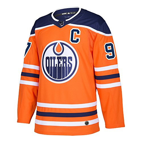 Connor McDavid Edmonton Oilers Adidas NHL Men's Authentic Orange Hockey Jersey
