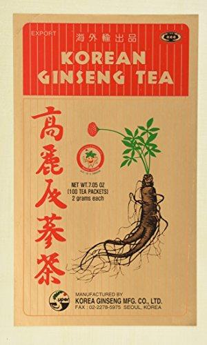 Korean Ginseng Tea 0 07 ounce Pack